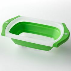 Food Network 6-qt. Collapsible Over-the-Sink Colander. Love this item! Holds a lot and such a space saver to store as well.