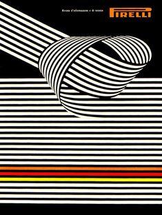 Vintage Italian Posters ~ #illustrator #Italian #vintage #posters ~ Pirelli