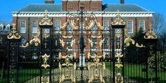 The beautiful gates at Kensington Palace #London