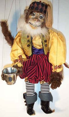 FOR SALE. Organ Grinder's Monkey. $350.00. Debra Hathaway Heath