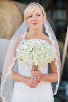 #bouquet, #veils  Photography: Carly McCray Photography - www.carlymccrayphotography.com  Read More: http://www.stylemepretty.com/2013/10/04/wisconsin-barn-wedding-from-carly-mccray-photography-cherry-blossom-events/