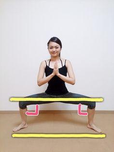 1日30秒で美脚美尻GET!簡単最強スクワット Fitness Diet, Yoga Fitness, Health Fitness, Keep Fit, Stay Fit, Healthy Beauty, Health And Beauty, Fat Burning Workout, Diet Motivation