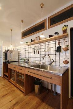 - Japanese - 15 Wonderful Japanese Kitchen Design Ideas for Perfect Kitchen Decoration Inspiring 15 Wonderful Jap. Restaurant Kitchen Design, Modern Restaurant, Asian Kitchen, Japanese Kitchen, Kitchen Shelves, Kitchen Dining, Kitchen Decor, Kitchen Tips, Industrial Kitchen Design