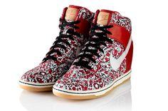 Nike Dunk Sportswear Liberty (Platform sneackers!)