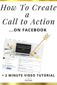 How to add a Facebook Call To Action - Simple tip to turn fans into subscribers