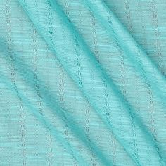 This knit fabric is perfect for creating tops, T-shirts and layering apparel. It features a soft hand, pointelle stripe design and 40% mechanical stretch across the grain.