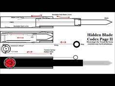 assassins creed hidden blade plans - Google Search