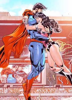 "dickraisin: "" SUPERMAN/WONDER WOMAN #12 """