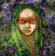 Caipora é uma entidade da mitologia tupi-guarani. É representada como um pequeno índio de pele escura, ágil, nu, que fuma um cachimbo e gosta de cachaça. Habitante das florestas, reina sobre todos os animais e destrói os caçadores que não cumprem o acordo de caça feito com ele. Seu corpo é todo coberto por pelos. Ele vive montado numa espécie de porco-do-mato e carrega uma vara Folklore, Harry Potter, Fan Art, Culture, Homeland, Brazil, Manga, Sacred Feminine, Art