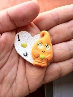 Imán de nevera Pixy. Ideal para el día de la / Miryoku Hand Made - Artesanio