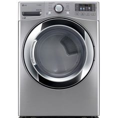 LG Electronics 7.4 cu. ft. Electric Dryer with Steam in Graphite Steel, ENERGY STAR-DLEX3370V - The Home Depot