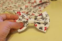 DIY The perfect fabric bow tutorial