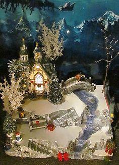 Navidad Creek Cascada & Stone Bridge aldea pantalla plataforma Dept 56 LEMAX | Objetos de colección, Adornos de colección, Marcas de colección | eBay!
