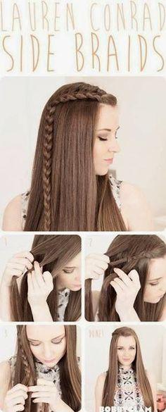 Trenza para cabellos largos