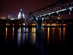 Millennium Bridge, England