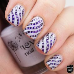 Polish Those Nails: The Nail Challenge Collaborative - Monochrome