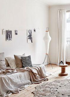 bright modern living room styled by fantastic frank / sfgirlbybay