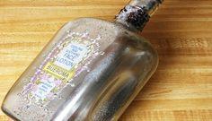 DIY Decoupage & Faux Vintage Mercury Glass