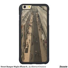 Street Bumper Maple iPhone 6 Plus Case Carved® Maple iPhone 6 Plus Bumper