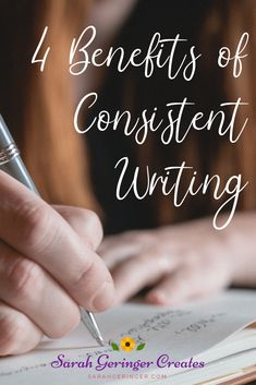 As a writer, do you have a consistent writing habit? Many writers struggle with consistency. Here are the four benefits I've experienced from consistent writing. Christian Post, Christian Living, Christian Faith, Christian Girls, Writing Advice, Writing Skills, Writing Workshop, Teaching Writing, Writing Prompts