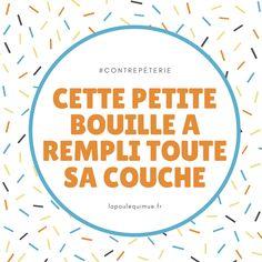 🐔 Cette petite bouille a rempli toute sa couche #contrepèterie #lapoulequimue Couches, Solution, Sofas, Canapes, Sofa, Banks