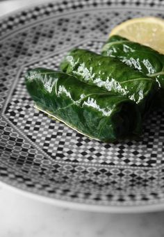 Stuffed Chard Leaves - Use Brown Rice