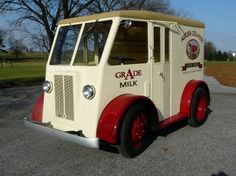 Antique Delivery Truck