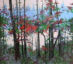 Canadian artist and painter, Robert Genn displaying a selection of impressionist paintings, interview, biography, and contact information. Contemporary Landscape, Abstract Landscape, Contemporary Artists, Landscape Paintings, Landscapes, Canadian Painters, Canadian Artists, Birch Tree Art, Plein Air