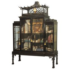 Chinese Chippendale Cabinet Chinese Chippendale