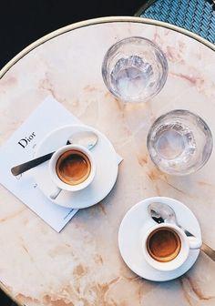 Espresso at the Cafe