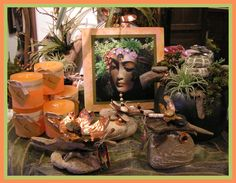 display in our florist, Art rock and Photo art, and a permanent botanical