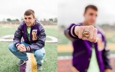 Convent, Louisiana: Senior Boy Session: Golf: Football: Cap and Gown: Kaylie Nicole Photography