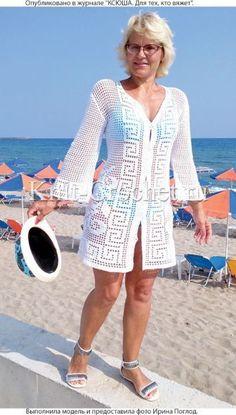 Fabulous Crochet a Little Black Crochet Dress Ideas. Georgeous Crochet a Little Black Crochet Dress Ideas. Crochet Beach Dress, Black Crochet Dress, Crochet Coat, Crochet Jacket, Crochet Cardigan, Filet Crochet, Crochet Clothes, Cardigans Crochet, Crochet Hooks