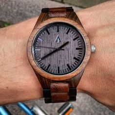 Wooden Watches from Tree Hut