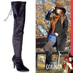 0a748eb41 A bota é considerado um dos coringas do guarda roupa feminino, pois pode  ser usado