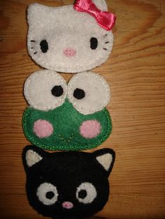 Chococat Keroppi and Hello Kitty