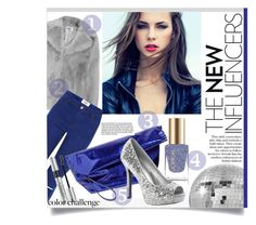 """""""Rock This Look: Blue and Silver"""" by miee0105 ❤ liked on Polyvore featuring CB2, Marni, Christian Dior and Garance Doré"""