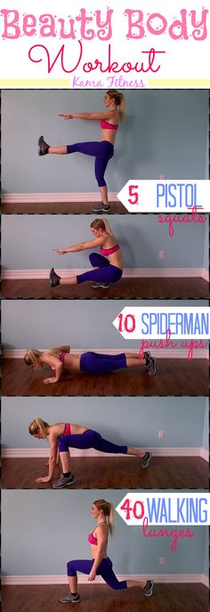Beauty Body Workout {Furst day of the 21 days 'till Summer Workout Challenge} Wake up & Work Out !!!