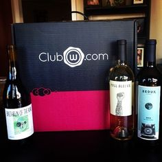 Club W sends three fine wines each month that meet your personalized tastes from a palate profile. For only $13 per bottle, this box is a steal. | Community Post: 20 Fantastic Subscription Boxes Everyone Needs Right Now