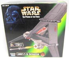 Star Wars POTF2 Luke's T-16 Skyhopper