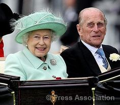 The Queen at Ascot by The British Monarchy, via Flickr