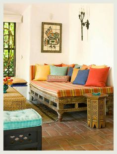From my favourite Indian decor blog- An Indian Summer