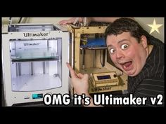 Ultimaker 2 - Unboxing, Review and a lot of Drooling! Excellent 3D Printer
