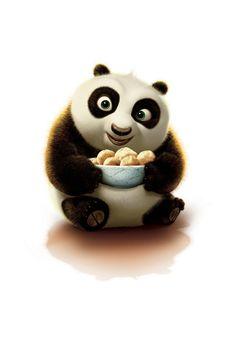Kung fu panda cartoon