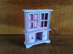 Country Cottage Hutch  Miniature Dollhouse by EightBoardsFarm, $9.00