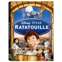 Ratatouille: All of a sudden, I feel like creating in the kitchen.