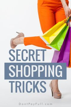 When is the best time to shop for clothes, electronics, beauty supplies or even groceries? Read these secret shopping tricks that will save you money! #DontPayFull