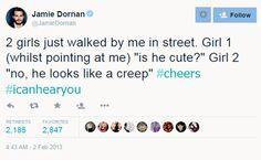 Jamie dornan tweets are one of my favorite things ever