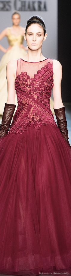 Georges Chakra Haute Couture | F/W 2014-2015 | The House of Beccaria~