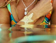 Goldfish Kiss Starfish Tattoo